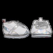 Silber-weiße Sneaker
