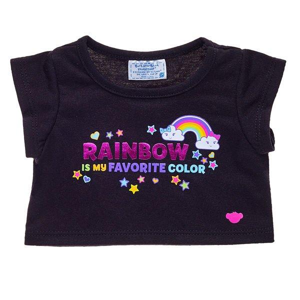 Regenbogen Lieblingsfarbe T Shirt Für Teddys